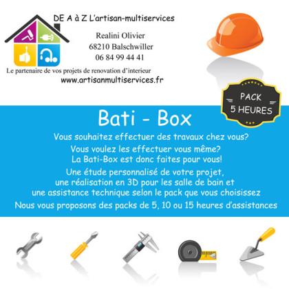 Bati-box, salle de bain, rénovation