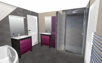 Devis, 3D, projet rénovation, projet salle de bain